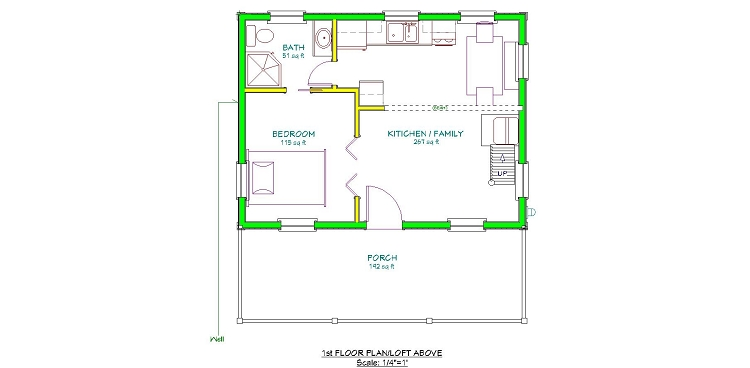 20 X 40 Plans With A Loft Joy Studio Design Gallery