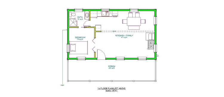 18 x 24 house plans house interior for 18 x 24 cabin floor plans