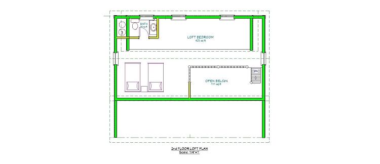 16x20 anorandak cabin plans joy studio design gallery for 16x20 floor plans