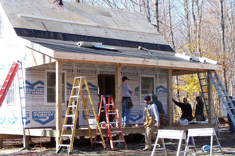 Adirondack cabin plans with loft joy studio design for Adirondack cabin plans