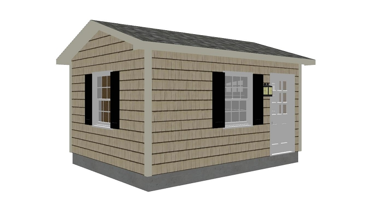 Jakes Free Access Garden Tractor Shed Plans