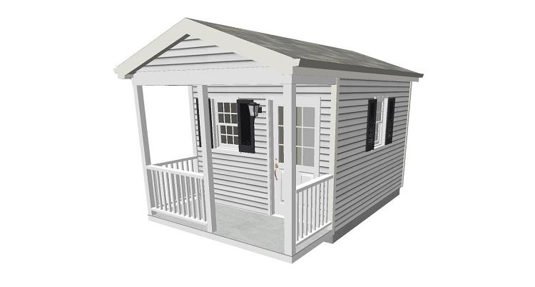 12 x 16 cabin plans joy studio design gallery best design for Equipment shed plans free