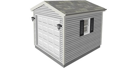 Tool Shed Plans 10' x 12'
